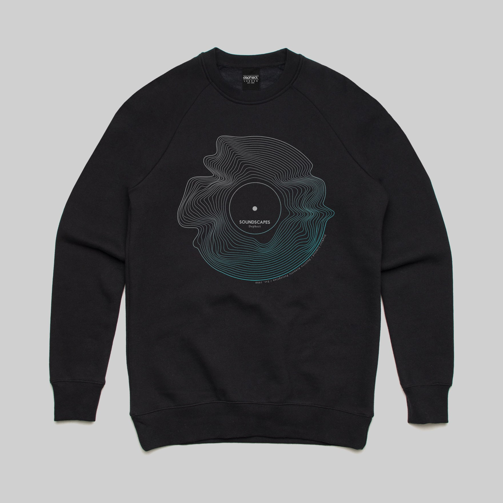 Soundscapes Sweatshirt / Black / Keshone