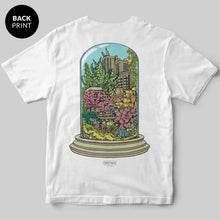 Terrarium T-Shirt / White / by Mike Winnard