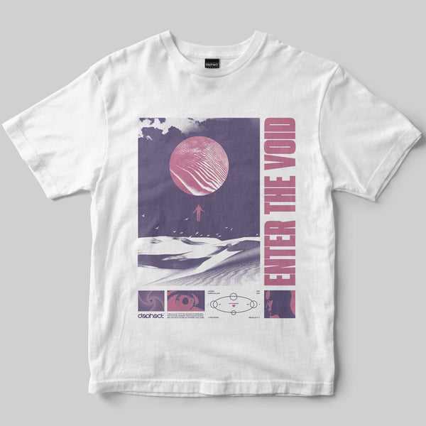 Void T-Shirt / White / by Silica
