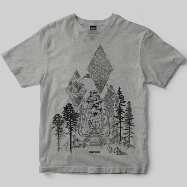 Wilderness T-Shirt / Heather Grey / by Poppy Mili