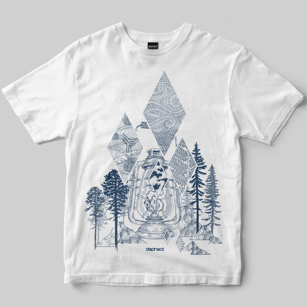 Wilderness T-Shirt / White / by Poppy Mili