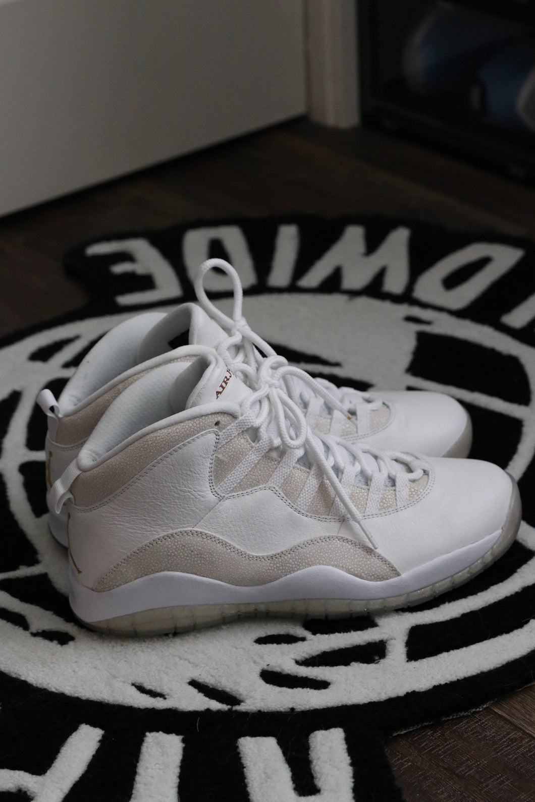 OVO x Air Jordan 10 White | Worn | Size 12