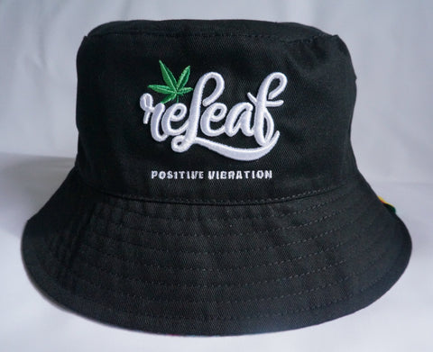 Bucket Hat - Reversible - ReleafClothing Caps - Tees, Hoodies, Sweatshirt, Beanie, Snap Back