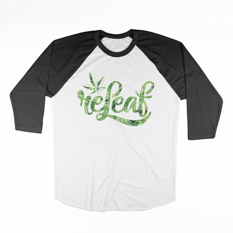 Bush Raglan - ReleafClothing Raglan - Tees, Hoodies, Sweatshirt, Beanie, Snap Back