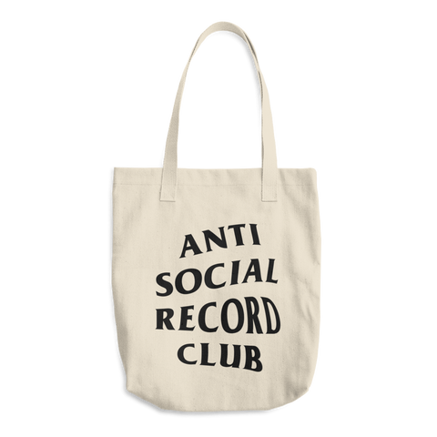 Antisocial Record Club Bull Denim Tote