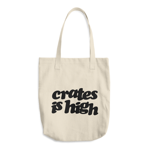 Crates is High Bull Denim Tote