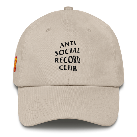 Antisocial Record Club Dad Cap