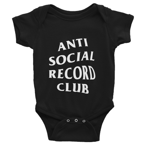 Antisocial Record Club Baby One-Piece