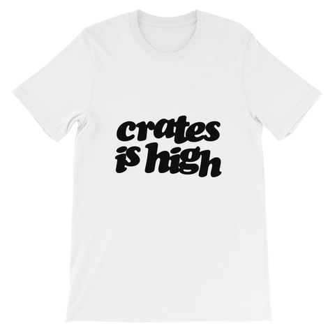 Crates is High Tee