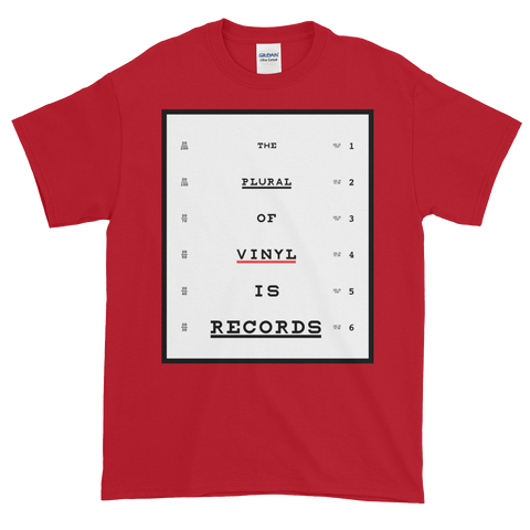 Plural of Vinyl Seeing Eye Test Tee