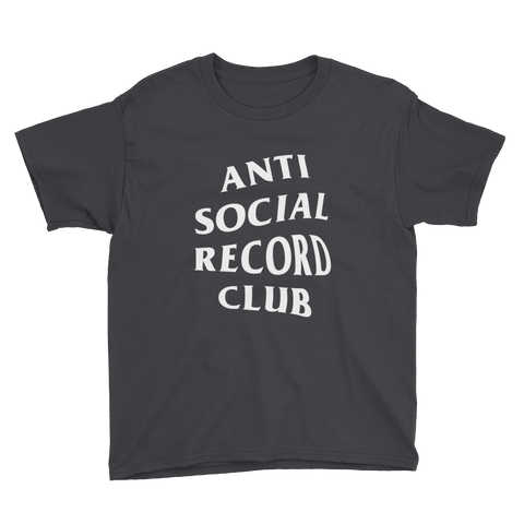 Antisocial Record Club Youth Tee