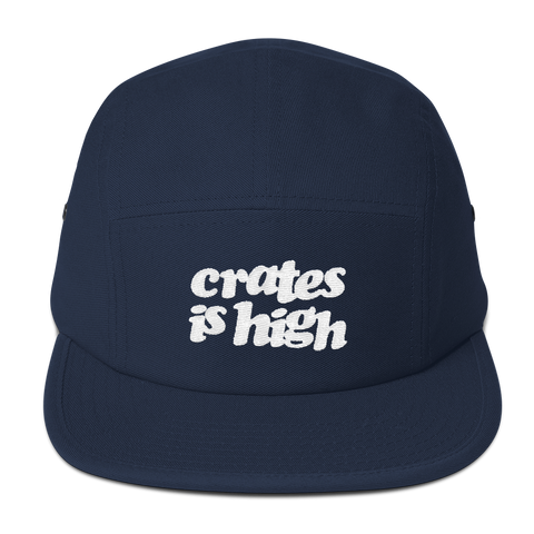 Crates is High Five Panel Cap