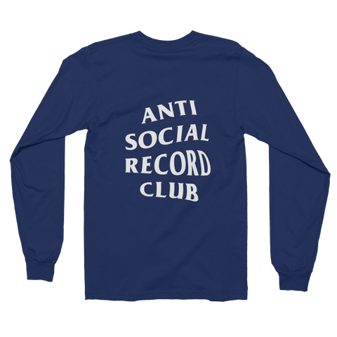 Antisocial Record Club Long Sleeve T-Shirt