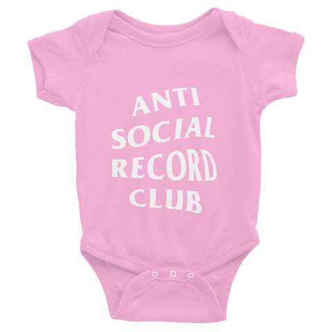 Antisocial Record Club Baby Onesie