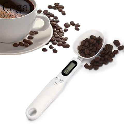 Portable 500g/0.1g Precise Digital Kitchen Measuring Spoons Electronic Spoon Weight Volumn Food LCD Display Food Scale