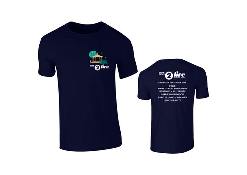 Navy Logo Event T-Shirt
