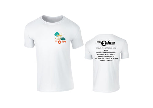 White Logo Event T-Shirt