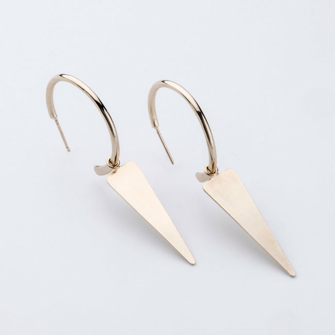 Klif Gold Earrings