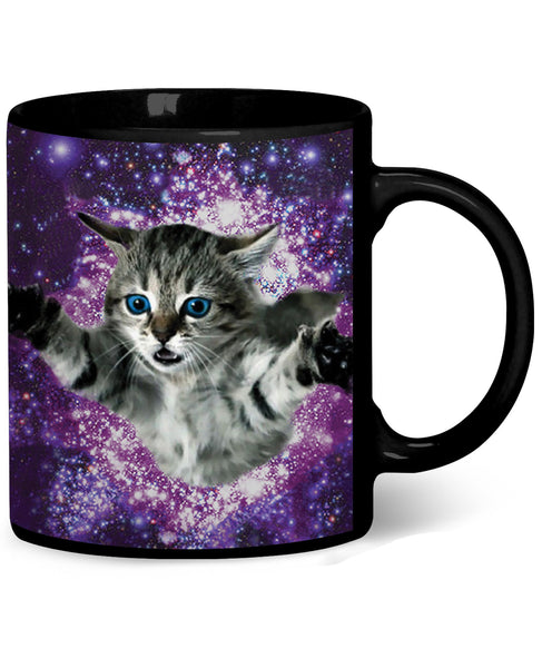 Kitty Glitter Coffee Mug