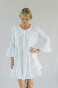 Frill Sleeve Dress