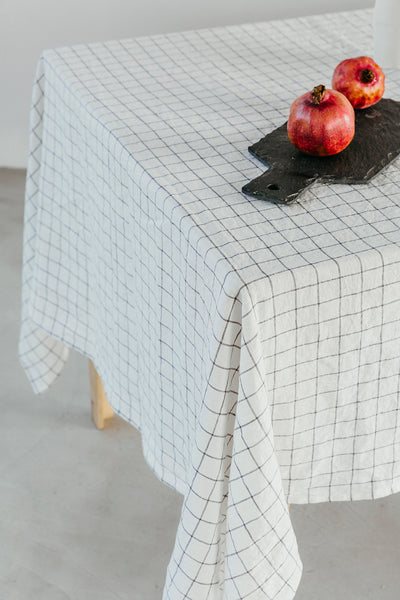 Simple Linen Tablecloth