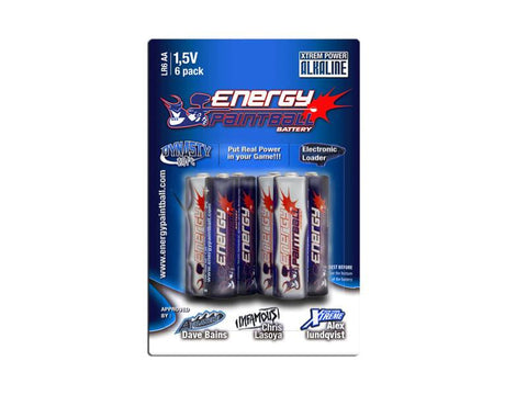 Battery Pack 6 Pack 1.5v AA