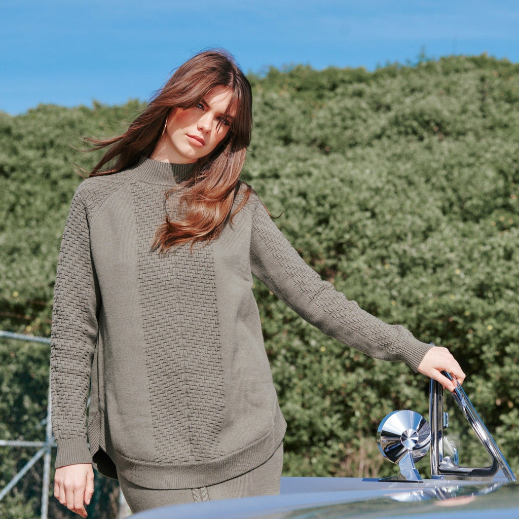 Nika Pullover  Moss