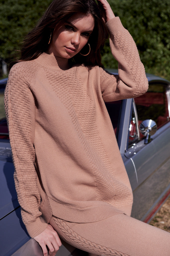 Nika Pullover  Sand
