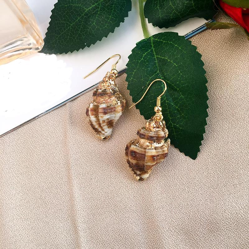 Harper Shell Drop earrings