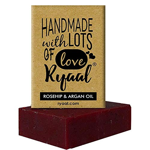 Ryaal Handmade Rosehip and Argan Oil Soap (100% Sulphate and Paraben Free) - Ryaal