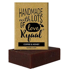 Ryaal Handmade Coffee and Honey Soap (100% Sulphate and Paraben Free) - Ryaal