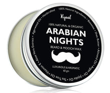Ryaal Beard Wax With Shea Butter & Argan Oil For Men Styles & Strengthens Hair (Arabian Nights) - Ryaal