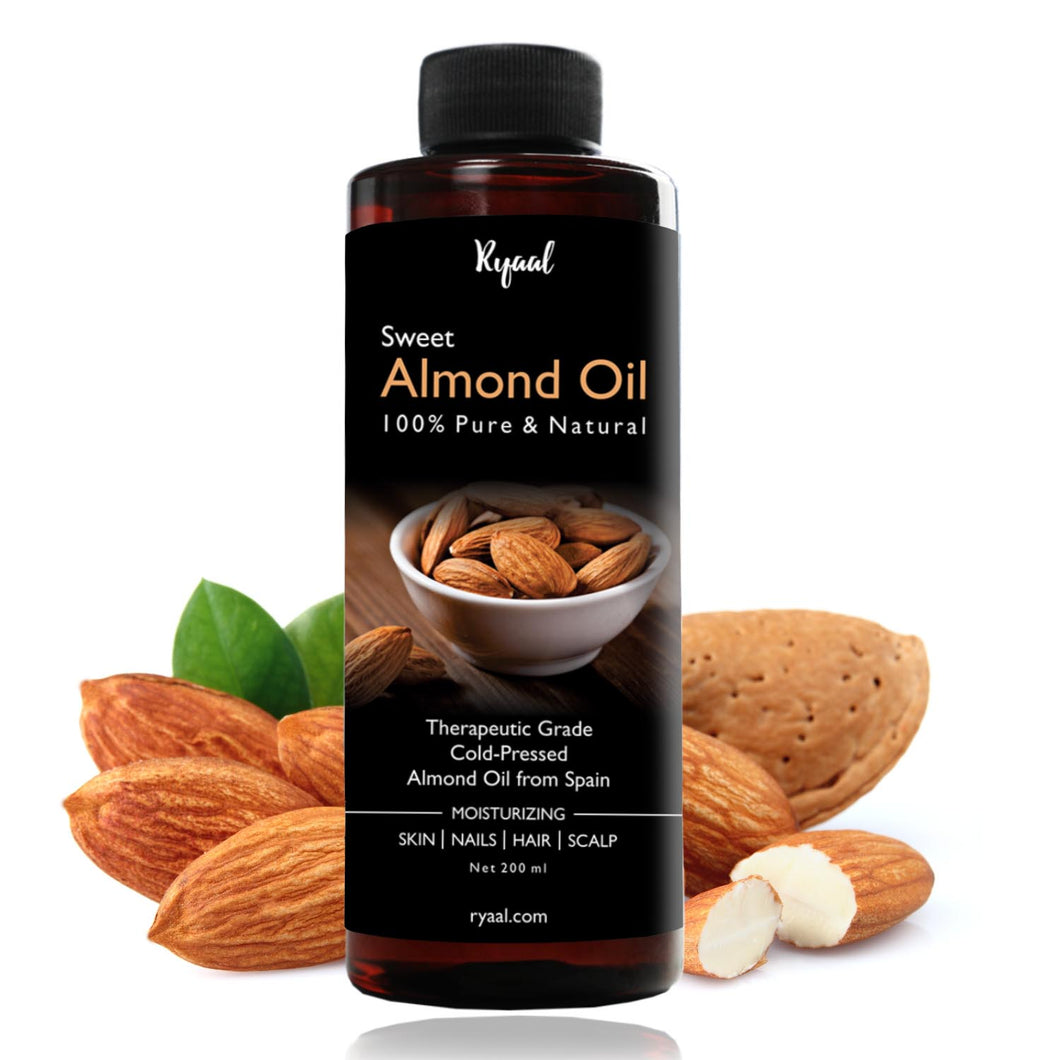 Sweet Almond Oil Benefits For Natural Hair