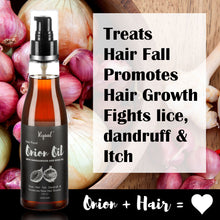 Ryaal Onion Hair Oil - Nourishing Hair Fall Treatment with 100% Real Onion extract- (200 ML) - Ryaal