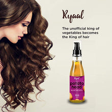 Ryaal Potato Head Oil Long & Strong Hair Oil | Potato, Onion and Coconut Extracts | Get Long & Strong Hair - Ryaal