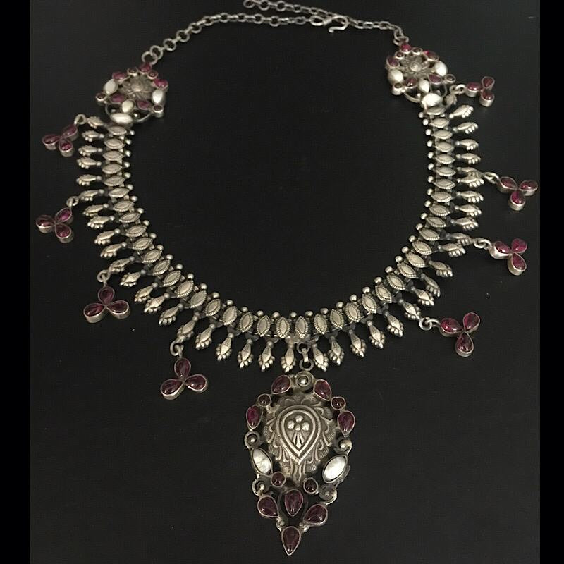 South Kemp Stone Rajasthani Necklace