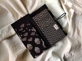 Handmade Black Cotton Unisex Wallet
