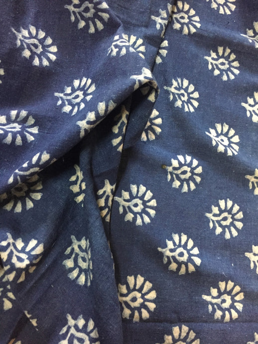 Khadi butta Cotton Blouse/ Crop Top Fabric (1.50 meters)