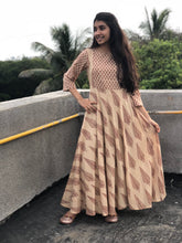 Paan Butta Umbrella Dress