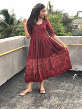Madder Javariya Gather Dress