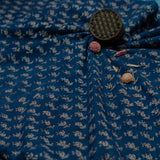 Indigo phadad Tradition Cotton Fabric