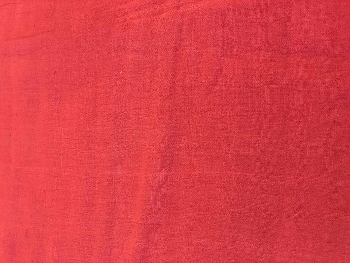 Brownish Red Kala Cotton Fabric (1.50m)