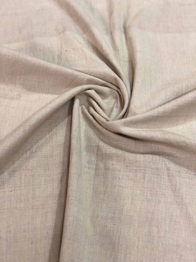 Beige Natural Dye  Fabric (0.75m)