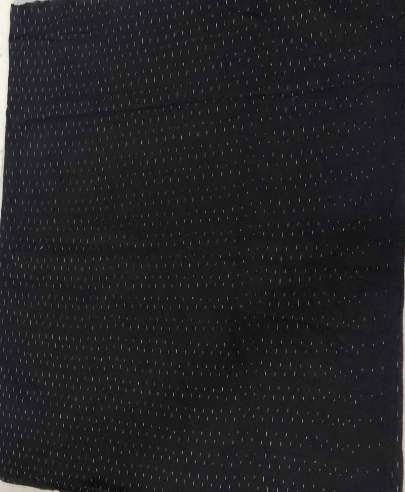 Black Ikkat  Fabric (0.75m)