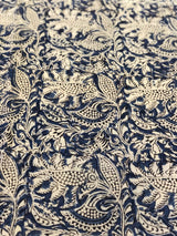 Blue Kalamkari Fabric (0.75m)
