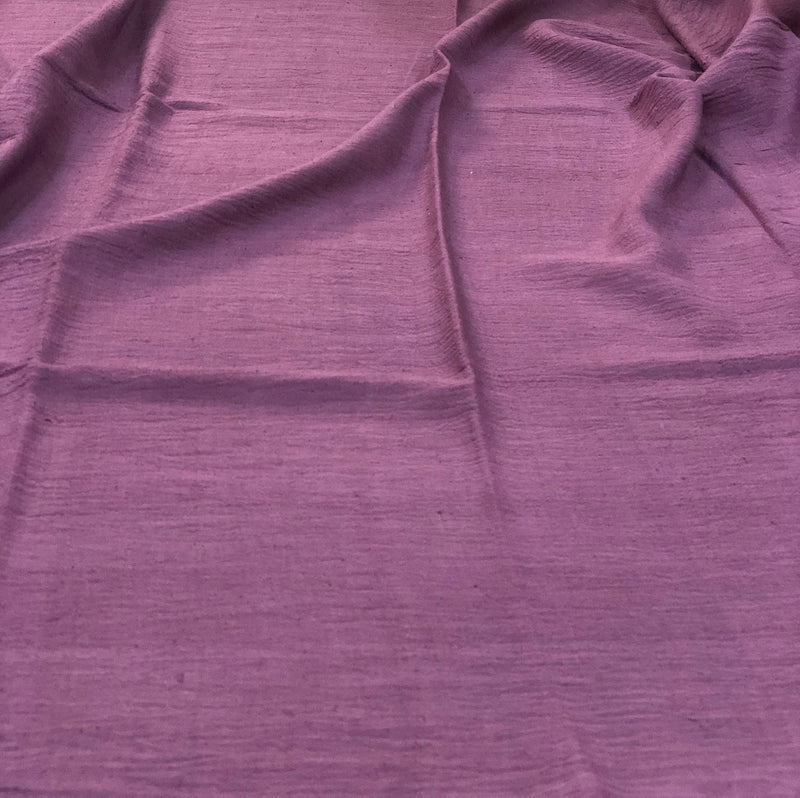 Purple Handwoven Fabric