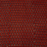 Natural Dyed Red Bhutti Ajrakh Cotton Fabric
