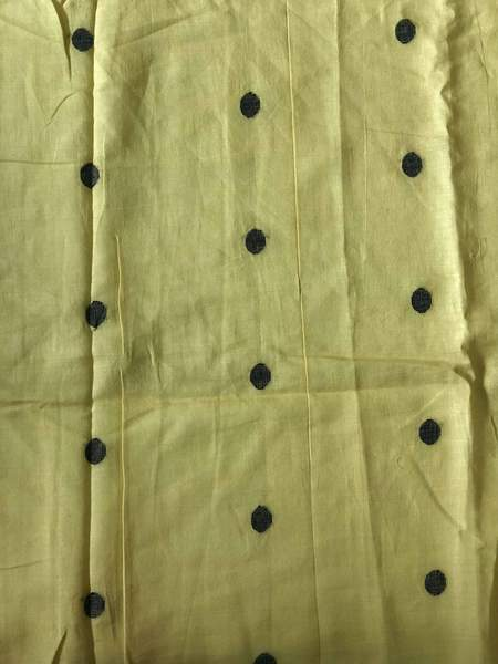 Yellow Jamdani Fabric (0.85m)