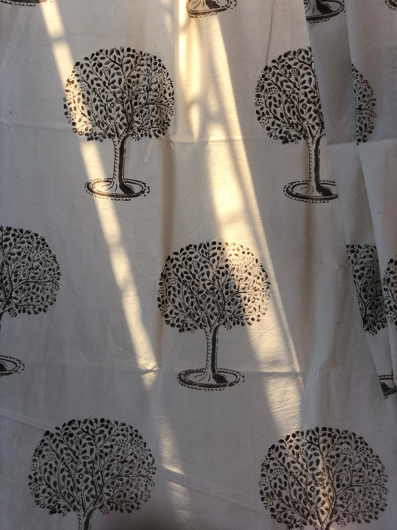 Fairy Tree Organic Cotton Home Linen Fabric