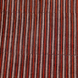 Natural Dyed Red - Brown Ajrakh Cotton Fabric